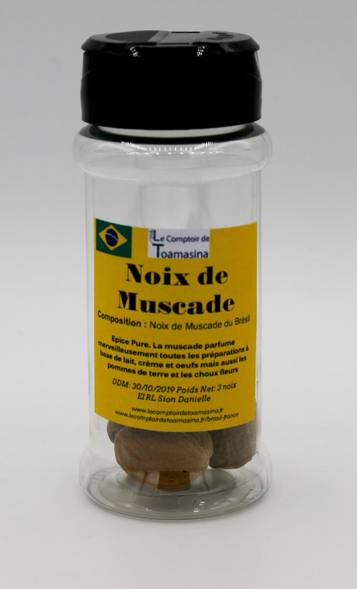 La noix du muscade du br sil achat vente conseils vertus for Noix de muscade cuisine