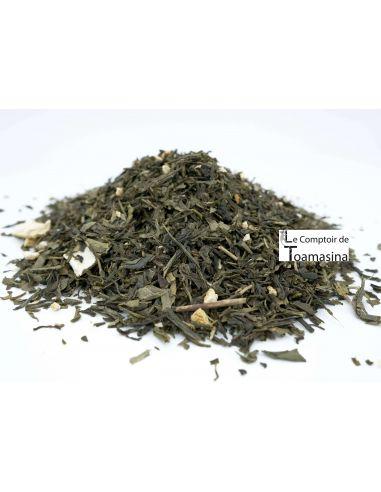 Chá Verde Paulista (4 frutas cítricas)