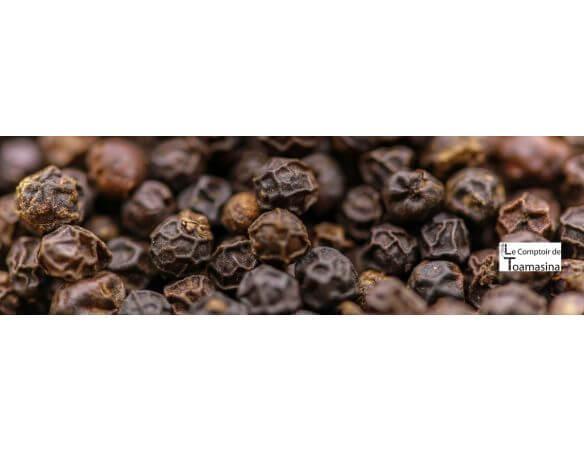 Acheter du poivre noir de Madagascar