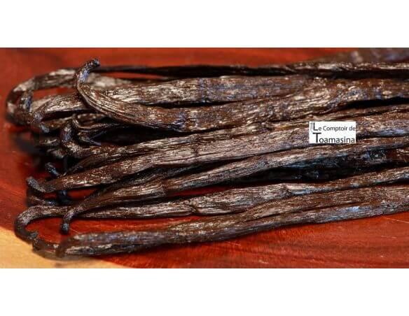 15 gousses de vanille de Madagascar AOC Bourbon