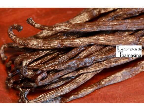 50 gousses de vanille bourbon de Madagascar