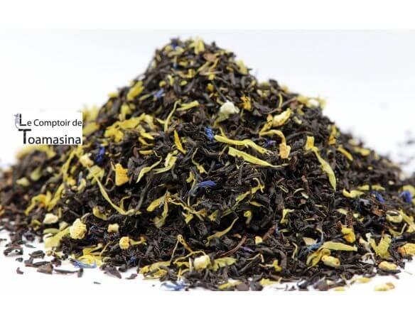 Thé Noir aromatisé goût russe - mélange aux agrumes