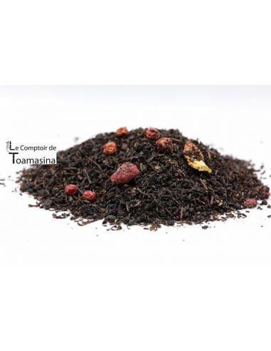Chá Preto Sensual (Morango - Cranberry)