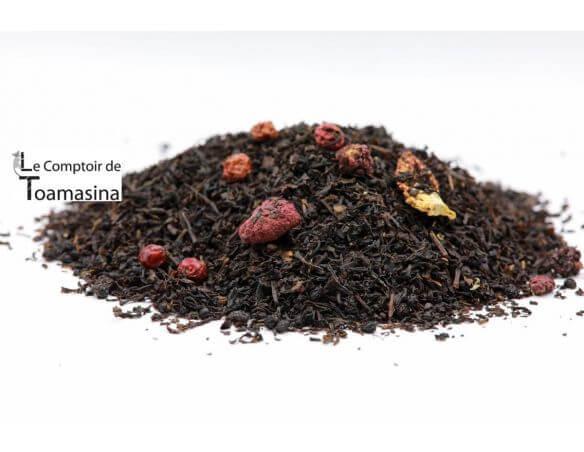 Acheter du thé noir parfumé aux fruits rouges