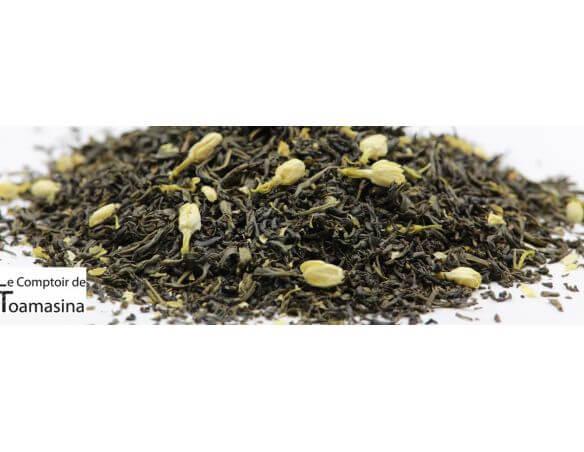 Thé Vert au Jasmin en vrac et de qualité