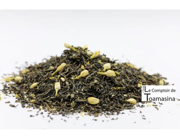 Acheter du thé vert au jasmin au meilleur prix au kilo et de qualité