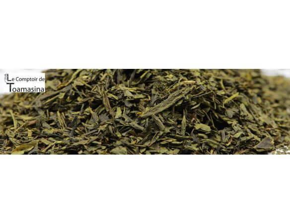 Acheter le meilleur thé vert aromatisé à la fraise, pamplemousse et gousse de vanille