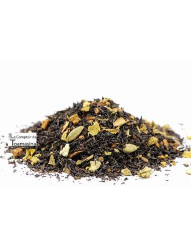 Acheter du thé noir aux épices gingembre, mangue et orange