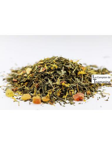 Thé Vert Parfumé Soleil de Bahia - Acheter le meilleur thé vert glacé