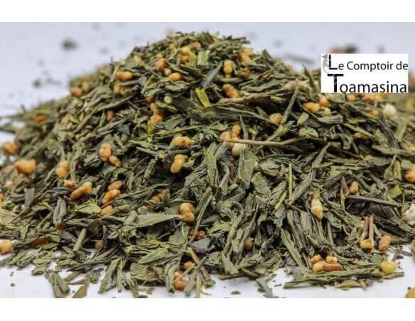 Acheter du Thé Vert Japonais Genmaïcha
