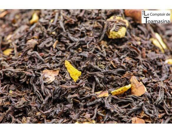 Acheter du thé noir parfumé au chocolat et à l'orange