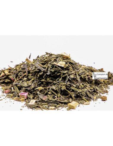 Chá Verde Ruibarbo Brilhante