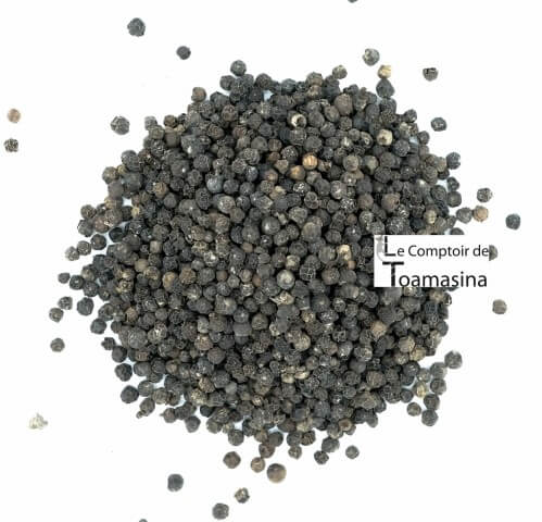 At Comptoir de Toamasina you will buy the best black pepper from Madagascar in grains