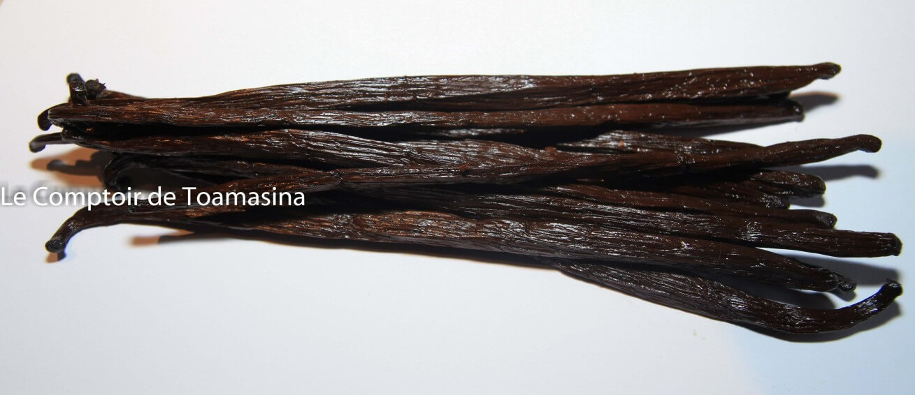 Vanilla pod of Madagascar: a vanilla of excellence and taste