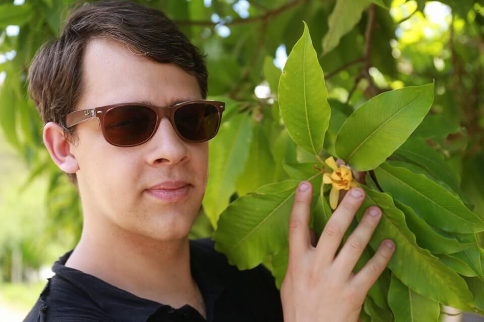 Arnaud Sion Chez un Producteur partenaire au Brésil