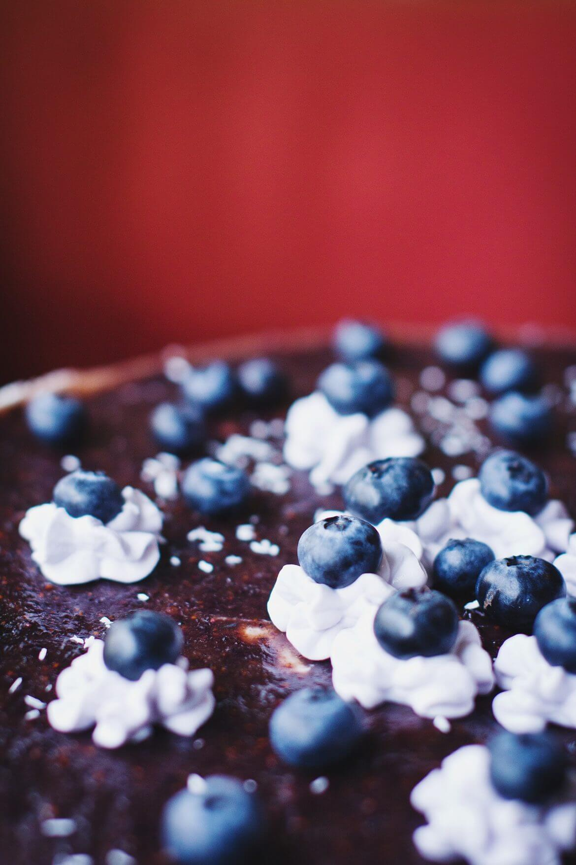 Recette de cheesecake à la pulpe d'açai