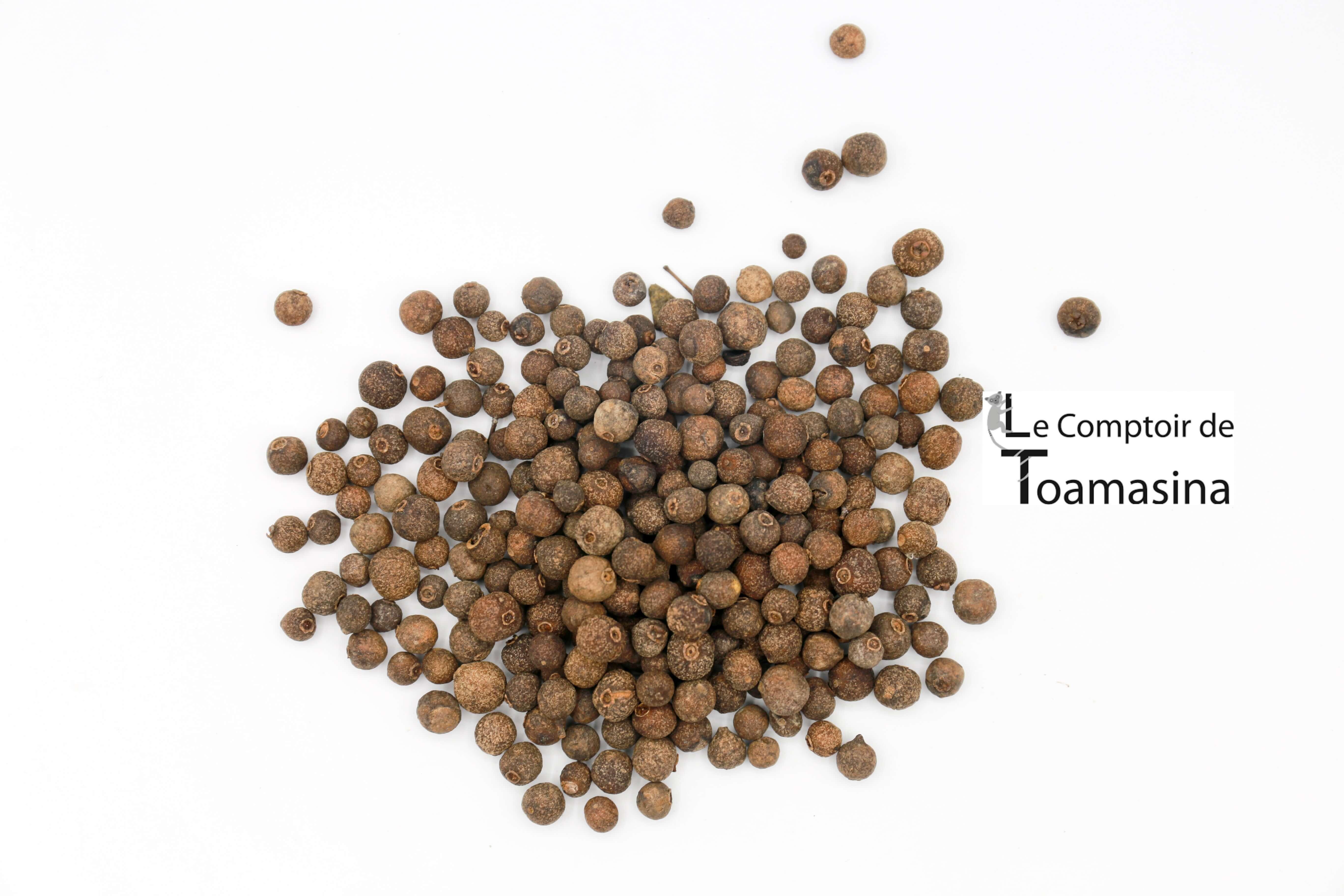 Recette poivre piment jamaique