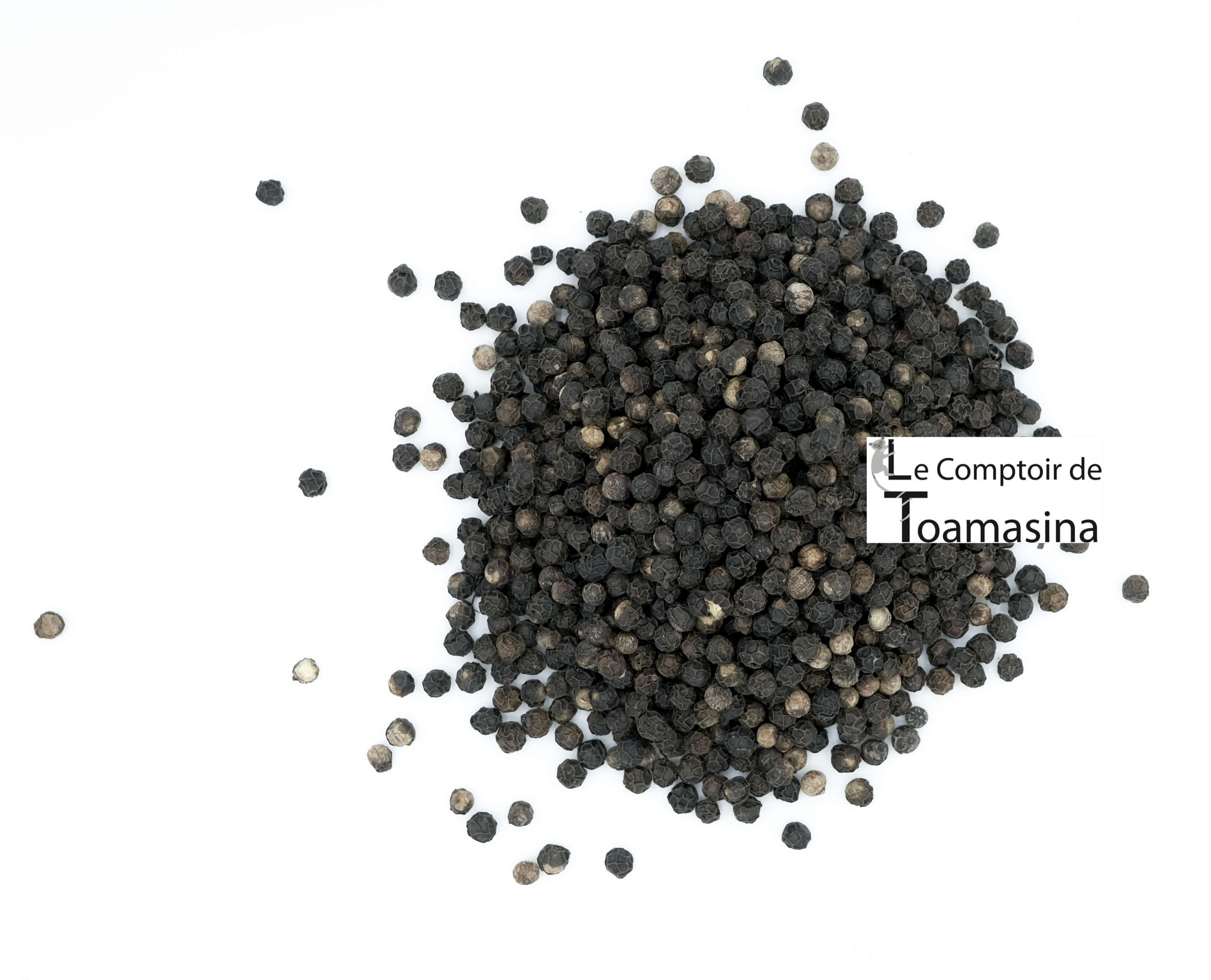 Poivre Noir Tellicherry en grains