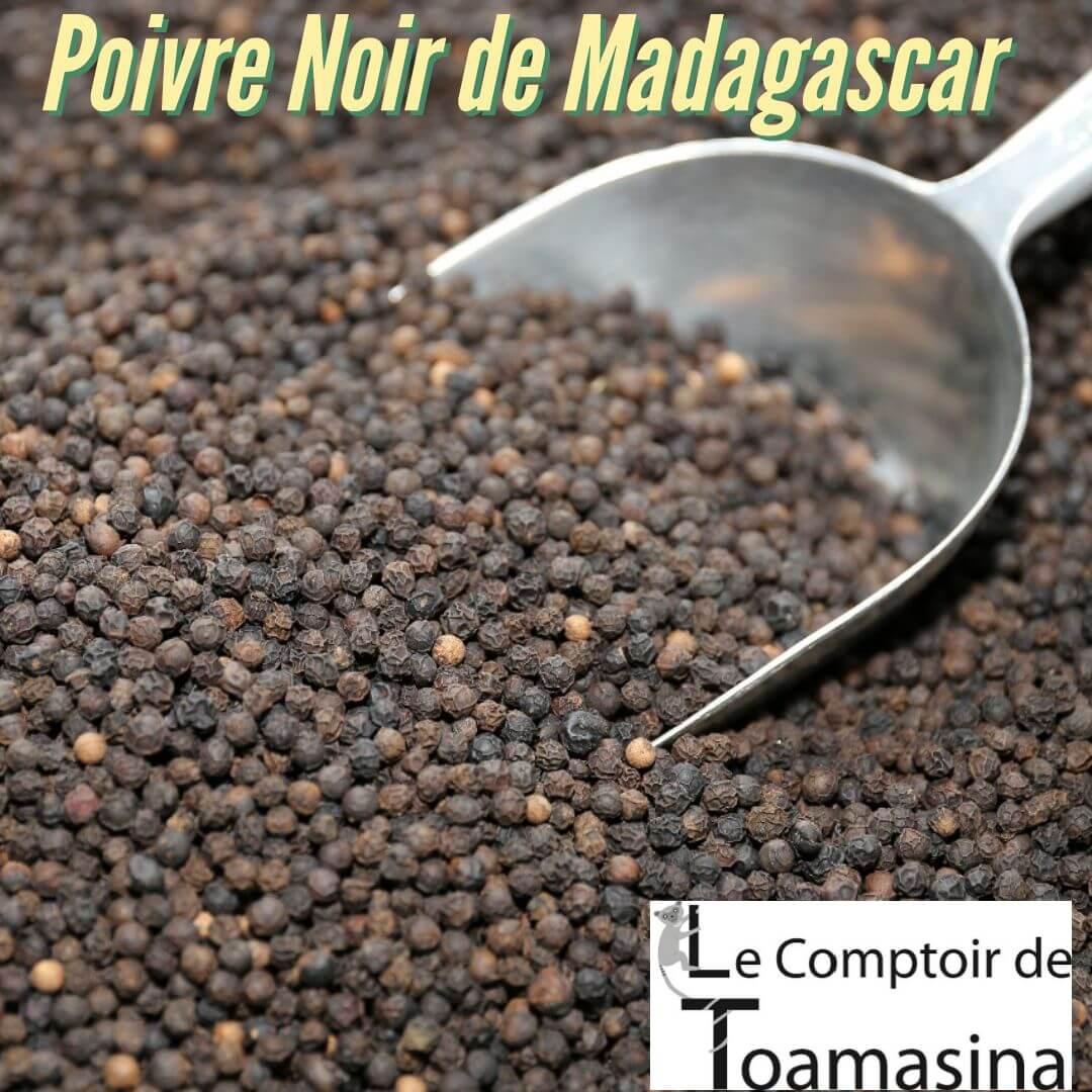 Poivre Noir de Madagascar