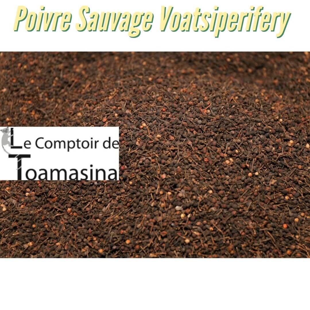 Achat Poivre Sauvage de Madagascar au kilo