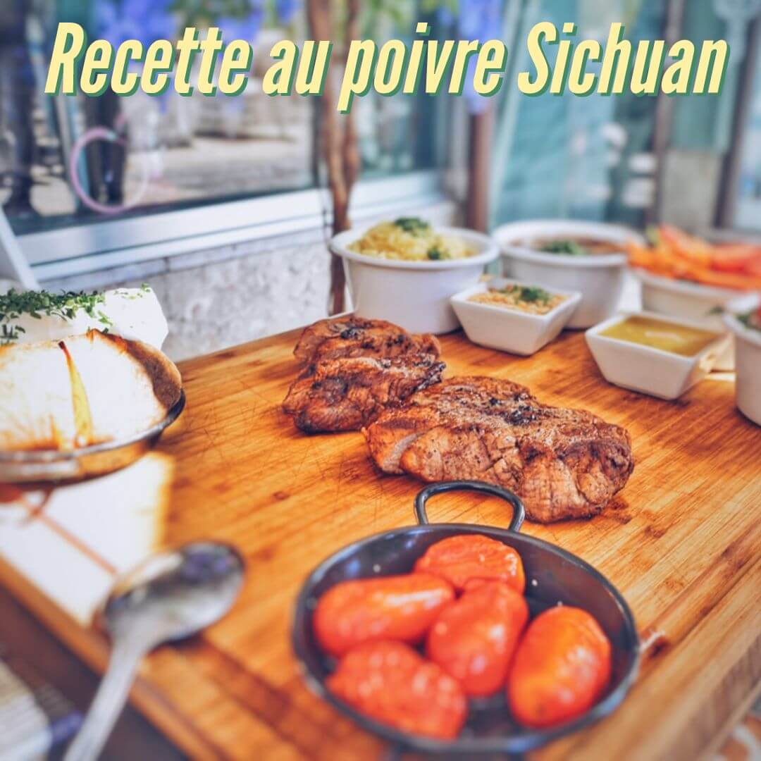 Recette avec le poivre Sichuan