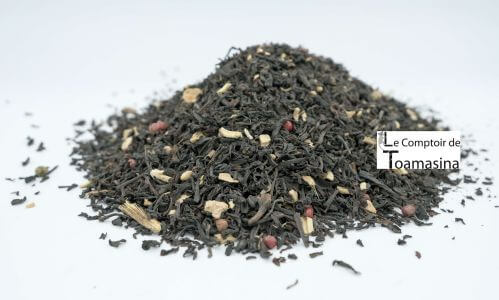 Buy Black tea flavored with spices and guarana