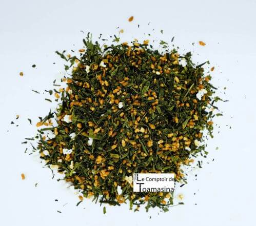 Green tea Genmaicha Yama - Bancha green tea with brown rice