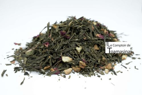 Christmas Green Tea - Comptoir de Toamasina and teas