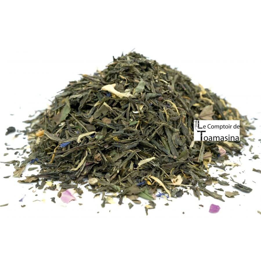 Aurora green tea - Sencha Green Tea, Bergamot and exotic fruits