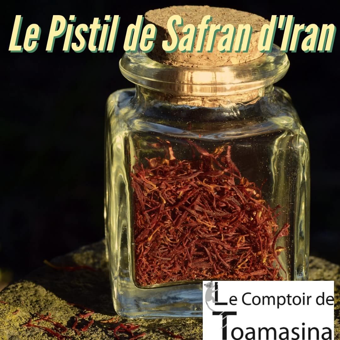 Safran Iran - Le Pistil de Safran dIran