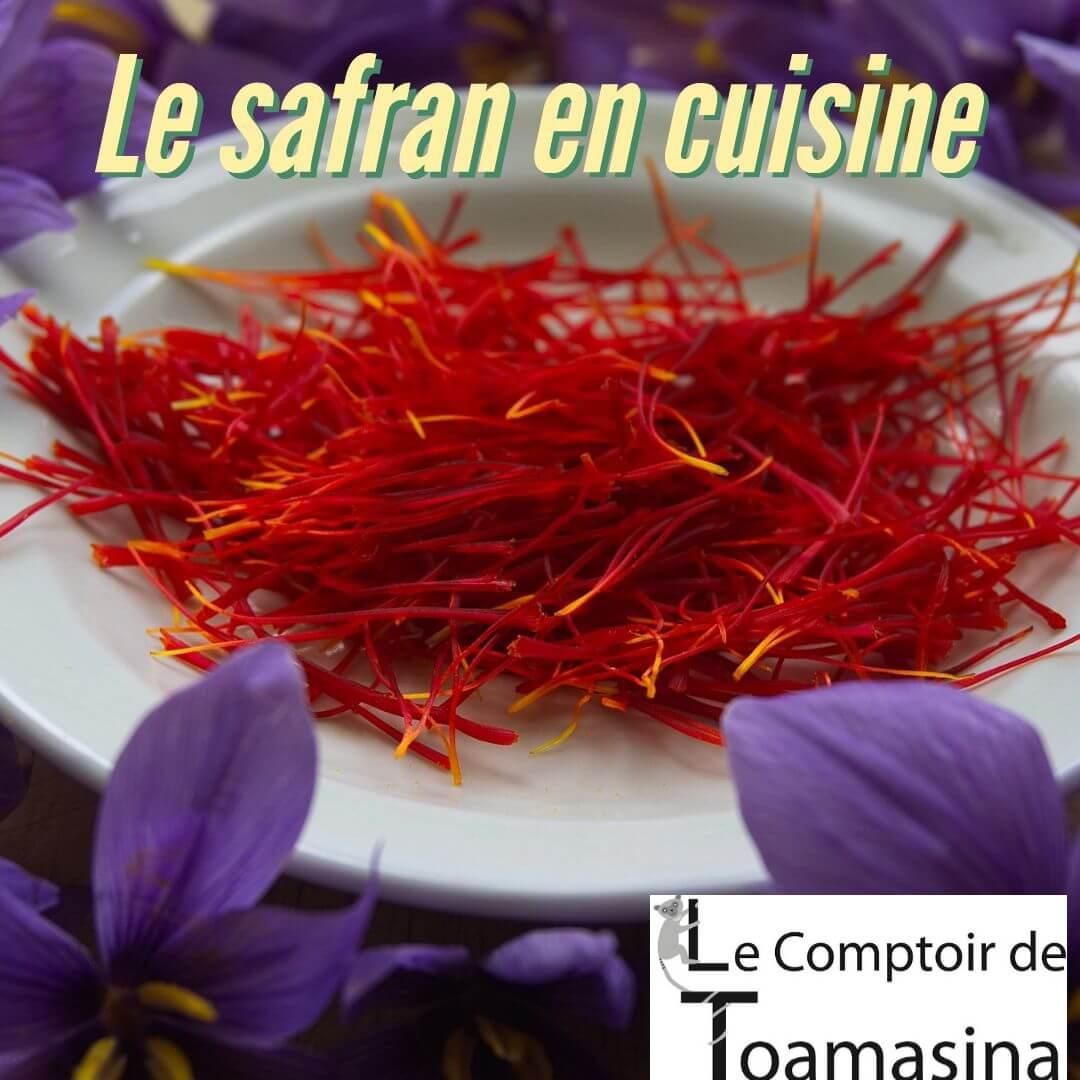 comment cuisiner le safran diran en cuisine