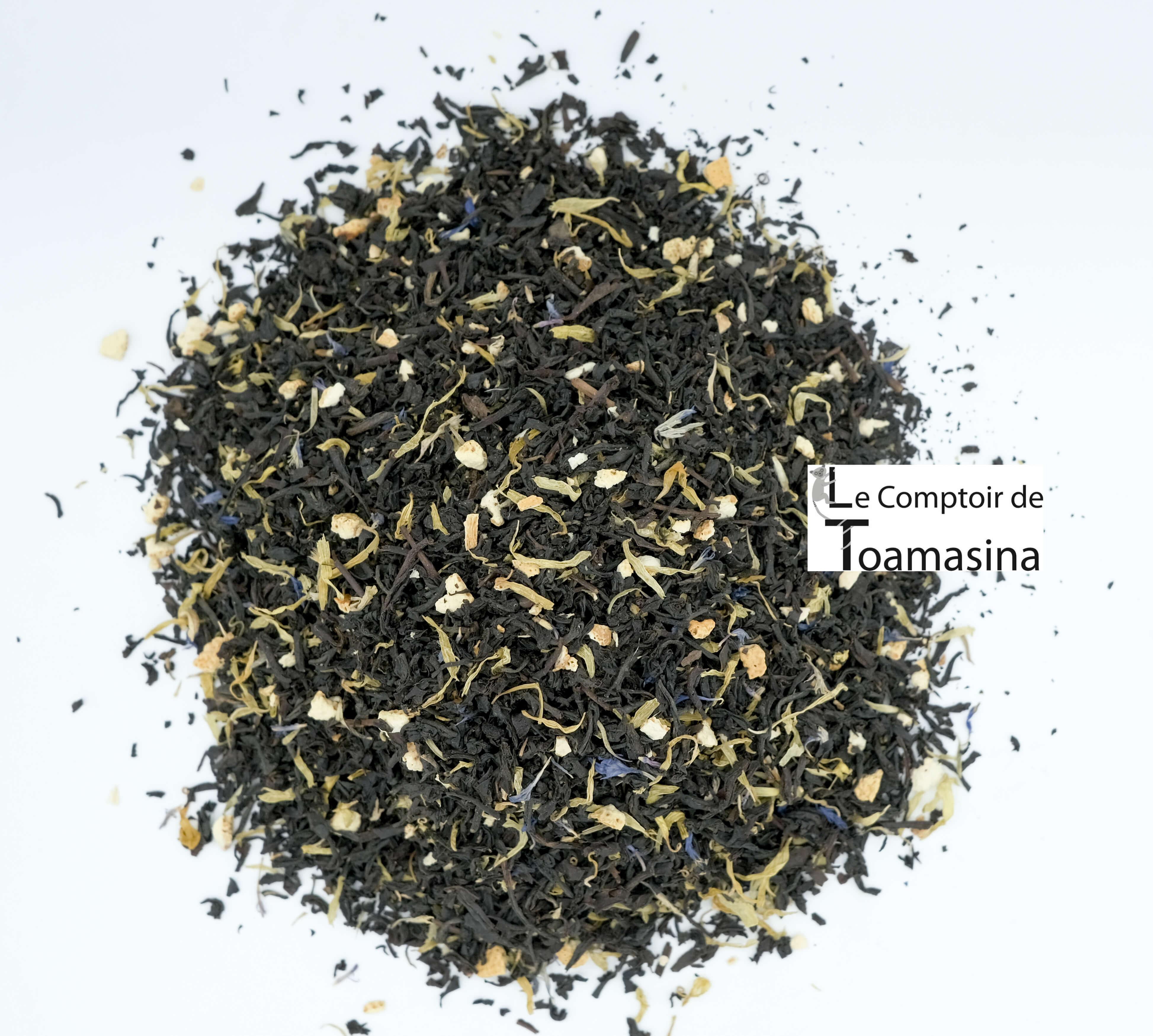 Acheter des thés noirs parfumés en ligne- Thé Noir goût russe impérial