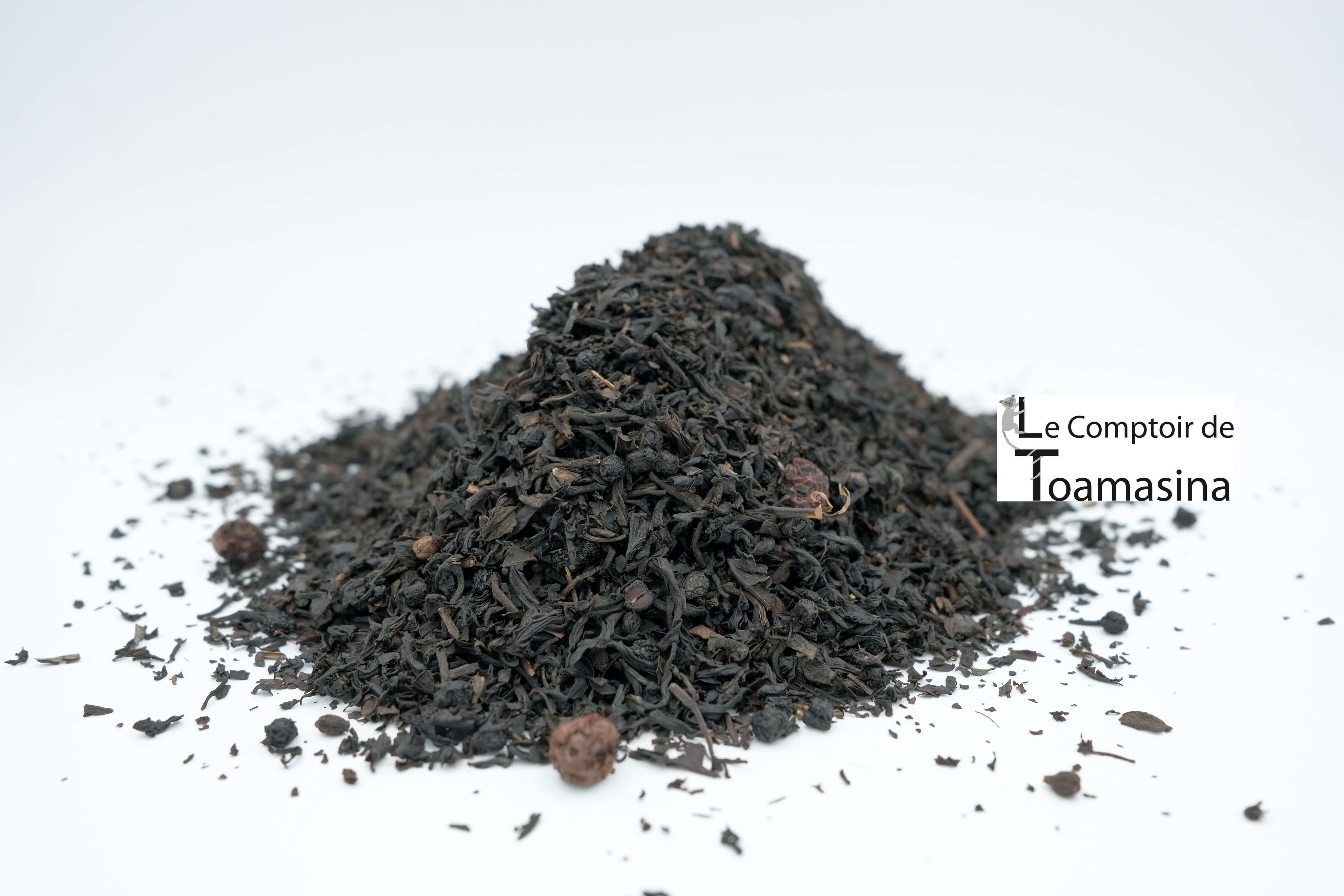 Thé Noir Parfumé/Thé Noir Canadien, acheter un thé noir aux fruits rouges