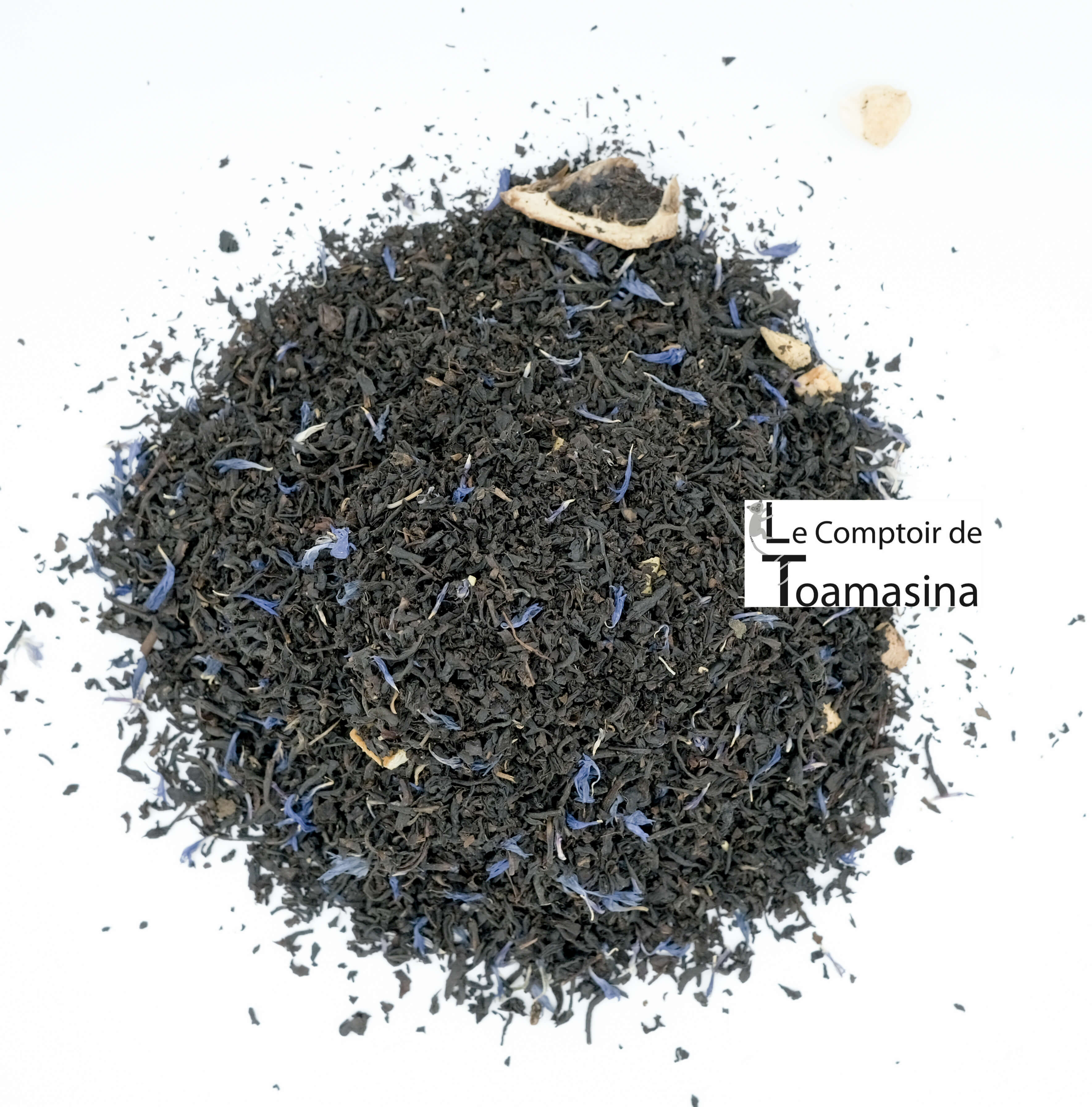 Thé Noir Parfumé 4 agrumes