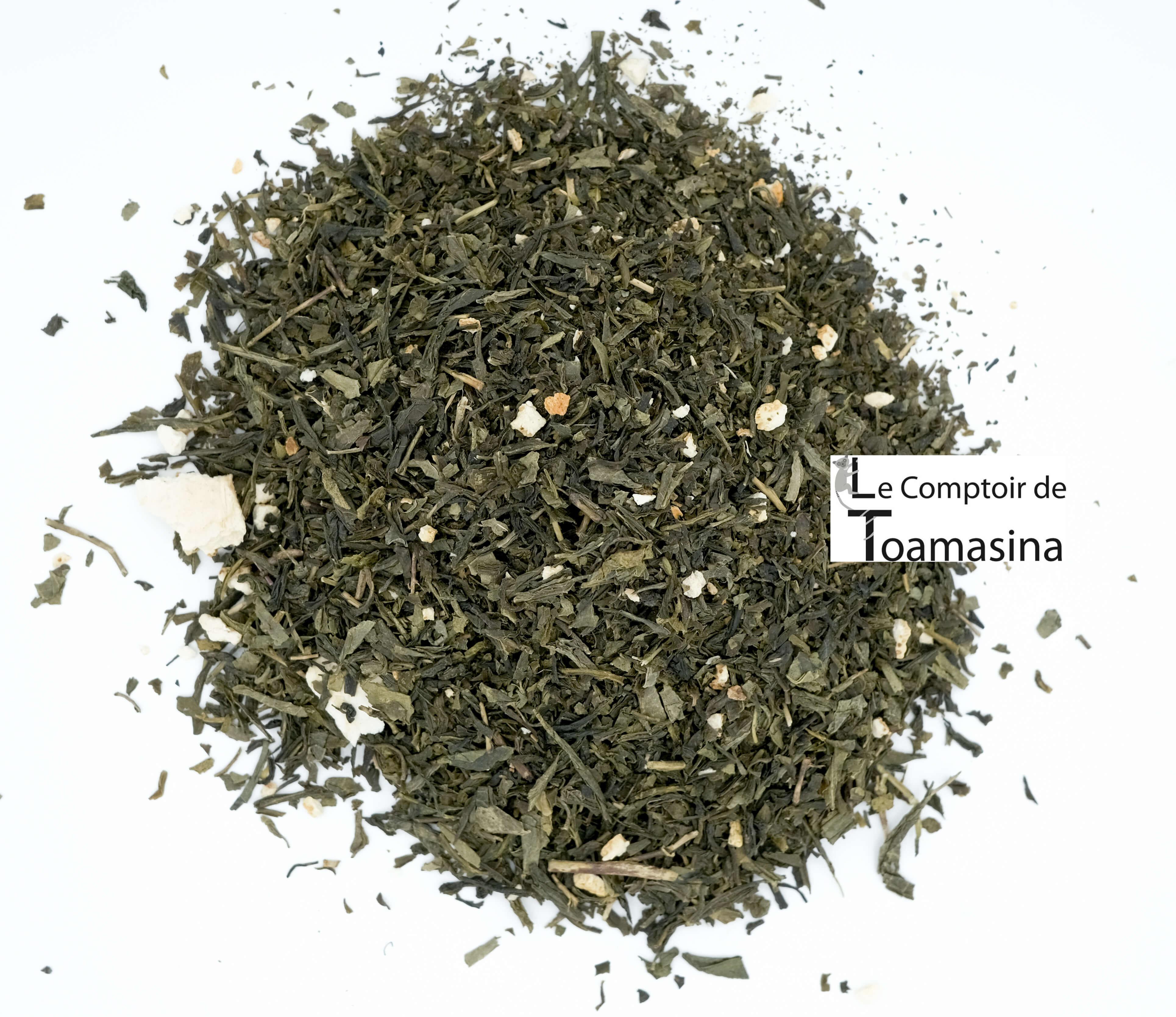 Acheter du thé vert 4 agrumes