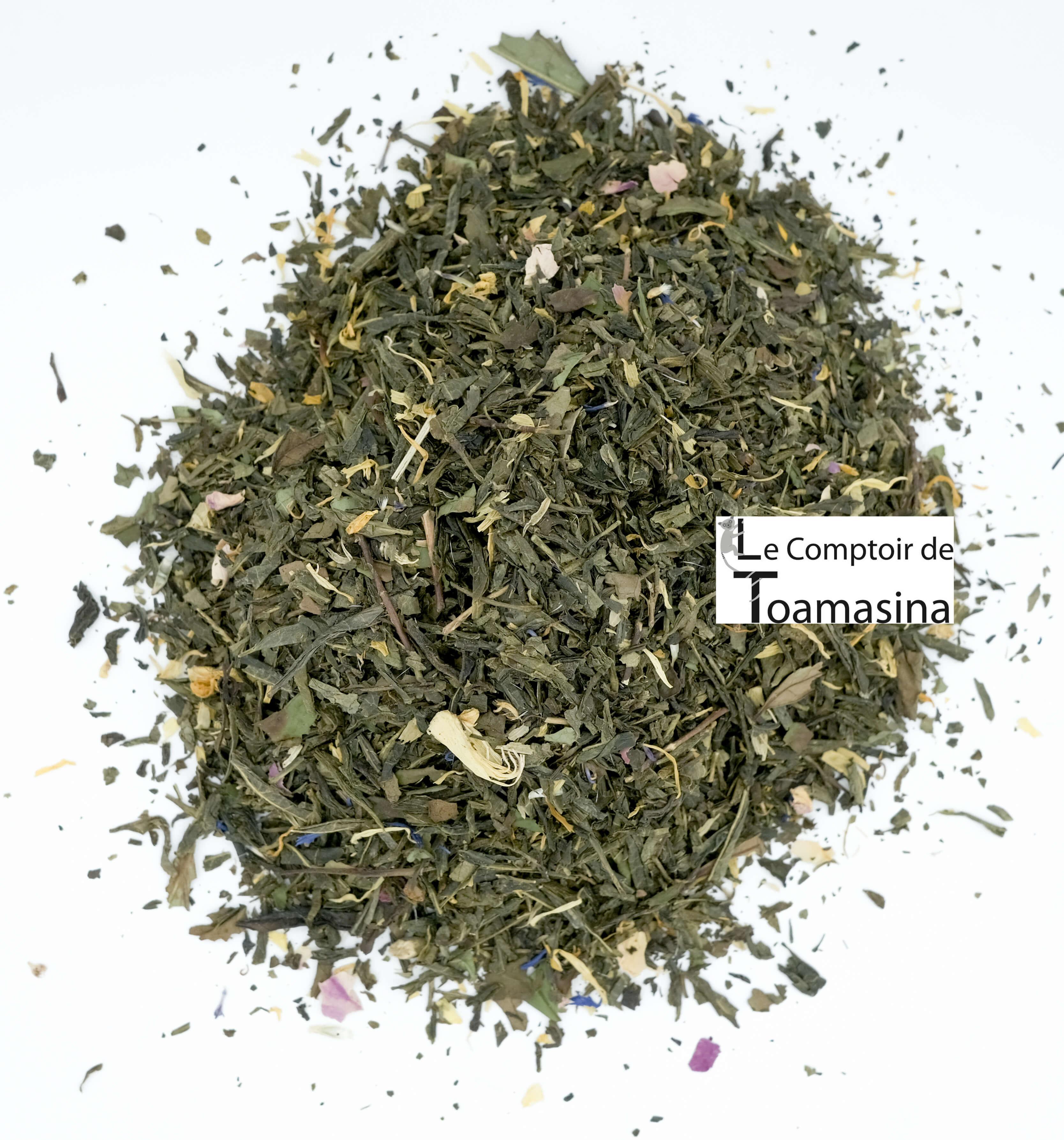 Thé Vert de laurore