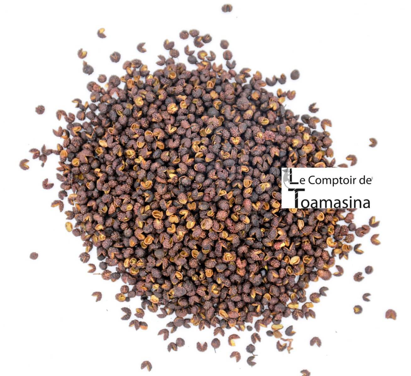 Timut BIO Pepper ou Timur Berry do Nepal ou encontre-o