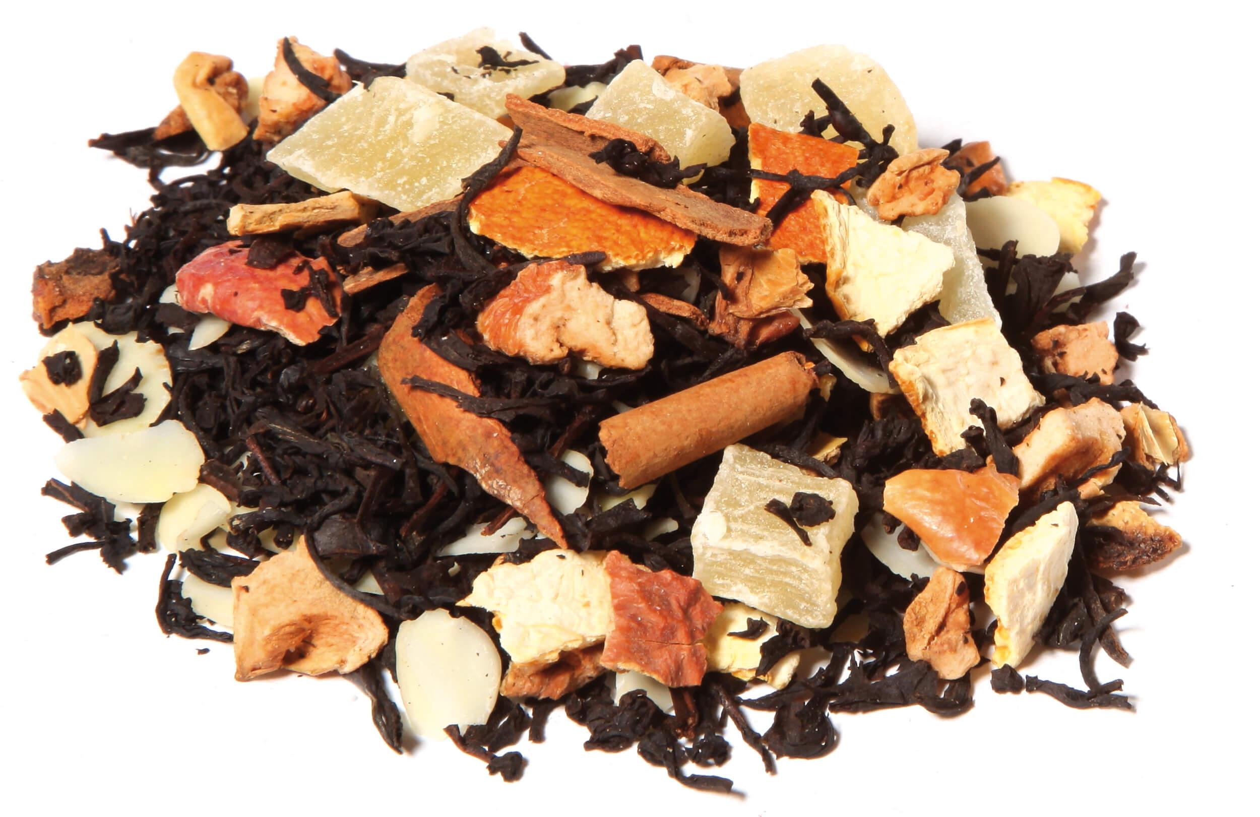 Thé Noir Jardin D'Aracuju, Thé Noir Ananas, Orange, Cannelle