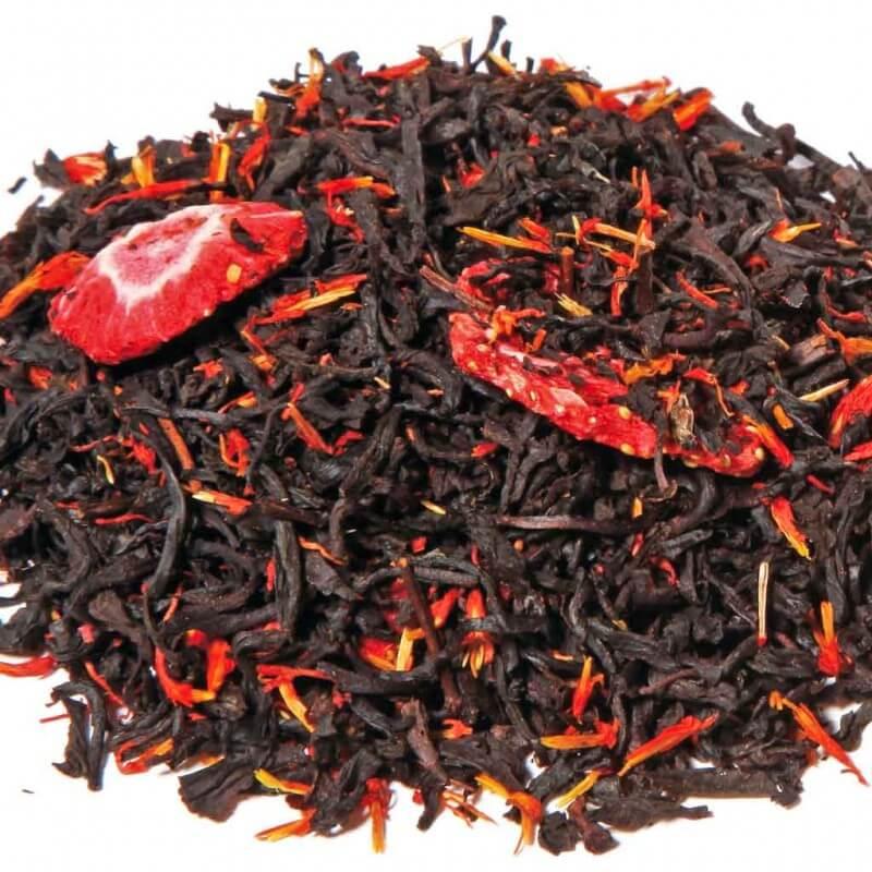 Thé Noir Canadien, Thé Noir aux Fruits Rouges