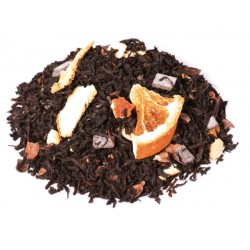 Thé Noir Bahia, Thé Noir Parfumé Orange Chocolat , Acheter en Ligne Thé Noir Parfumé Orange Chocolat