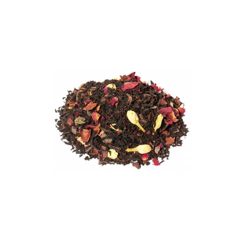 Thé Noir des Délices, Thé Noir Violette Cacao, palais des thé à Lille, Maison de Thé à Lille