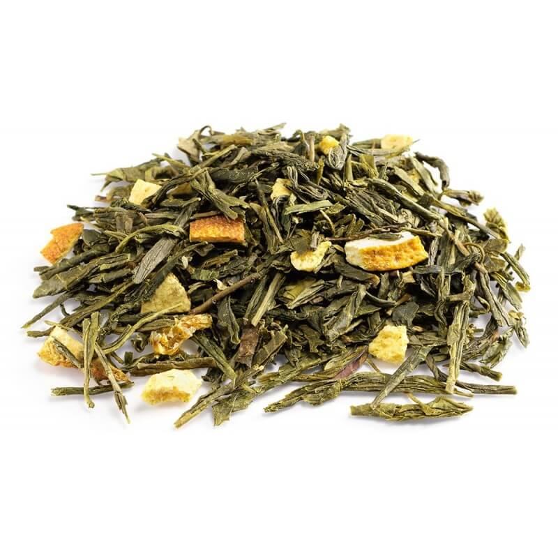 Thé Vert à l'Orange Carioca, Thé vert du Brésil